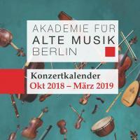 Konzertkalender Akamus | Oktober 2018 - März 2019