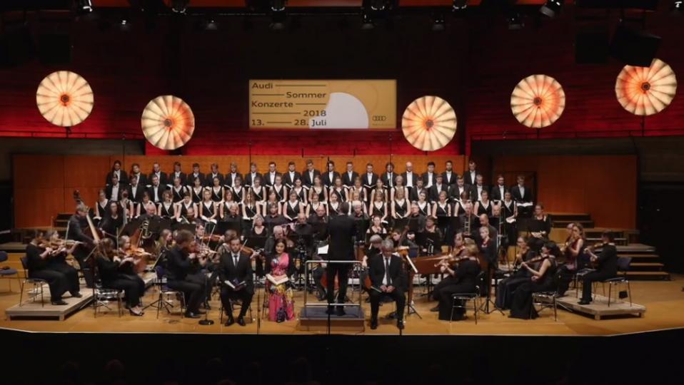 (c) Archiv Audi Jugendchorakademie