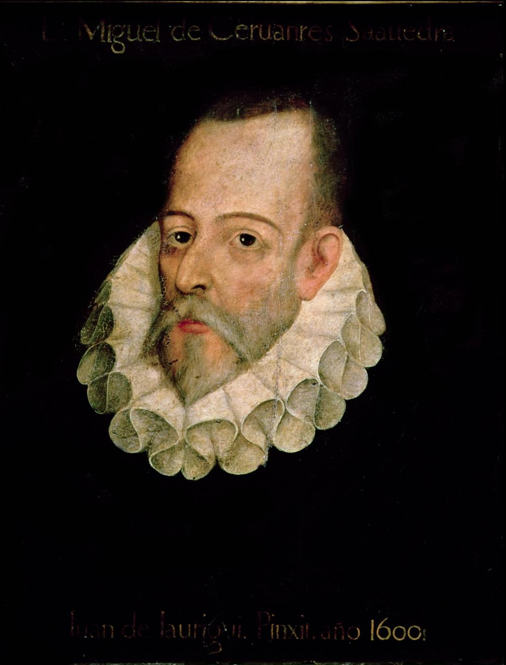 Miguel de Cervantes (c) Wikipedia