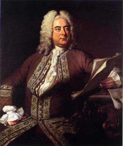 Georg Friedrich Händel Portrait