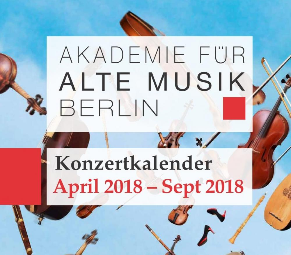 Akamus Konzertkalender April - September 2017